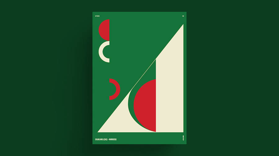 Poster Series of Cities From Around the World