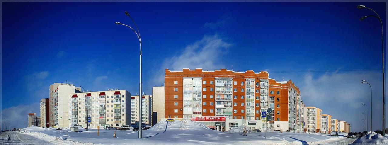 Перекрёсток пр.Кузбасского и ул.Серебряный бор (© NickFW - 26.01.2017)
