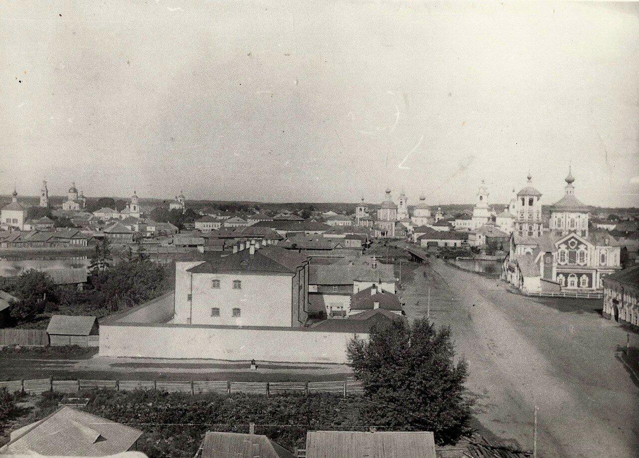 Вид с колокольни Корсунско-Богородичного Собора