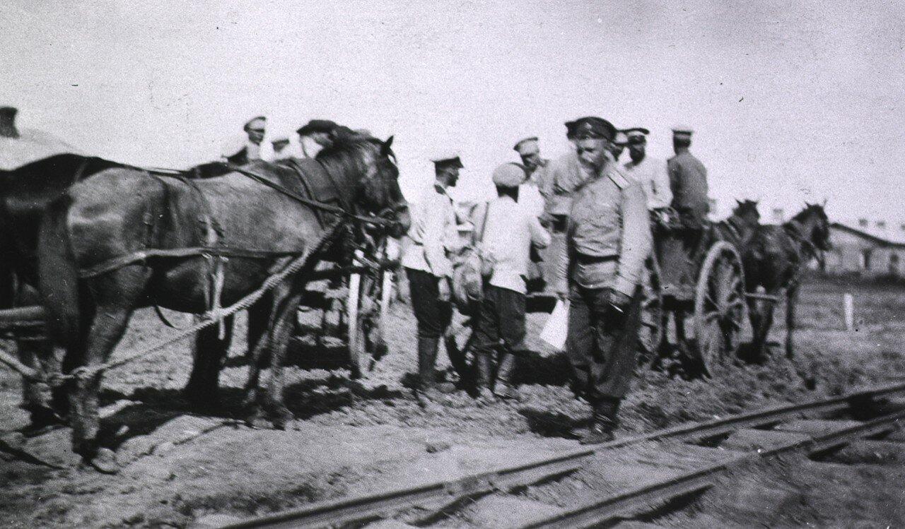 Перевозка больных в эвакуационный госпиталь. Харбин
