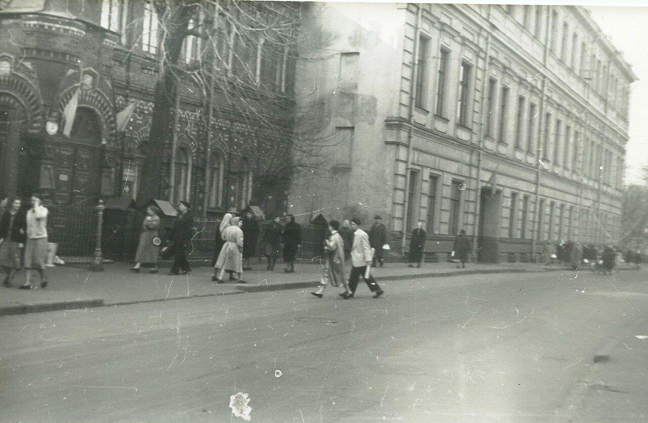 1960. Телеграфный переулок