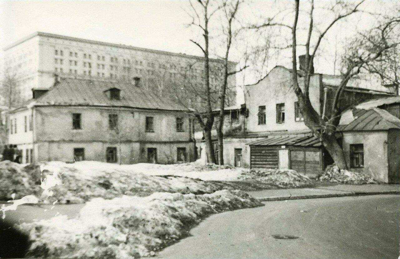 1963. Голиковский переулок