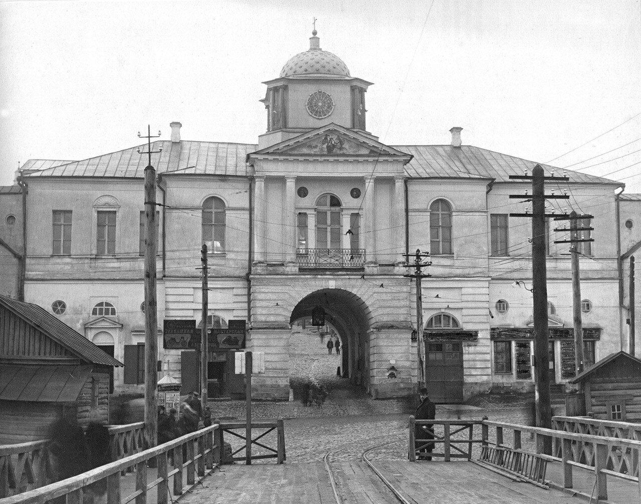 Надвратная церковь Смоленской иконы Богоматери Одигитрии. 1910-е