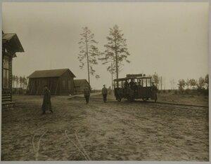 Железнодорожная ветка к офицерским домам