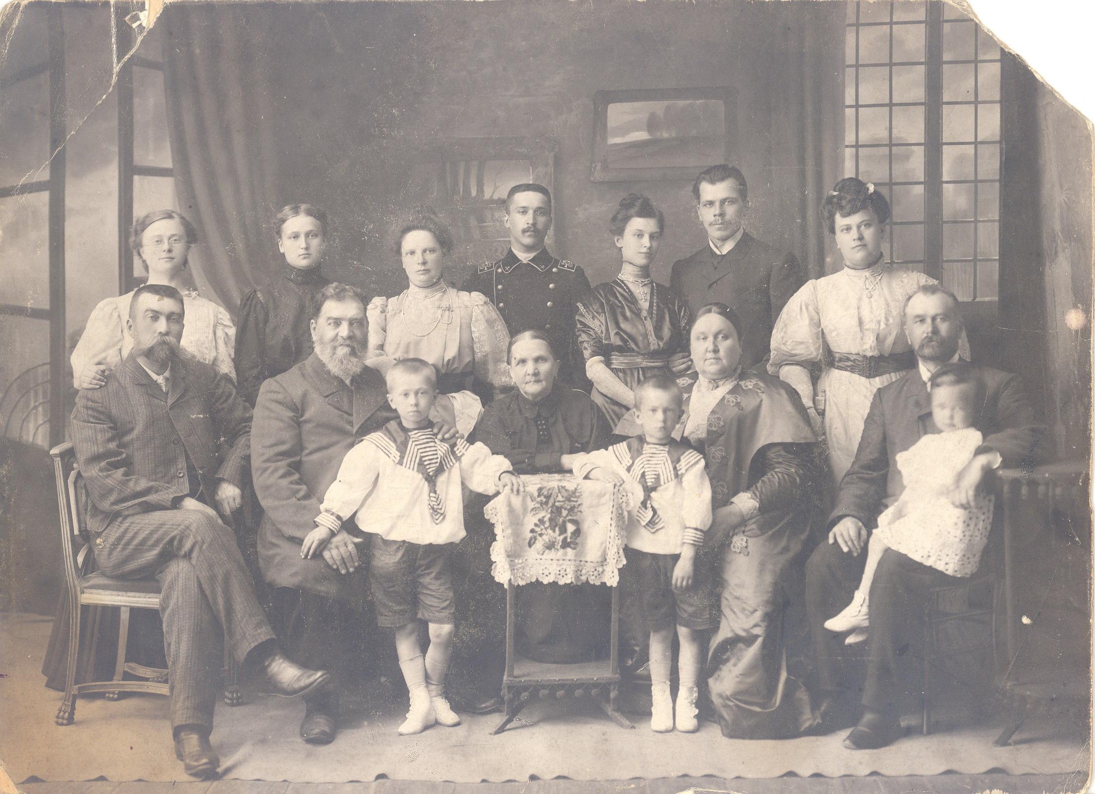 Групповой портрет. 1910-е