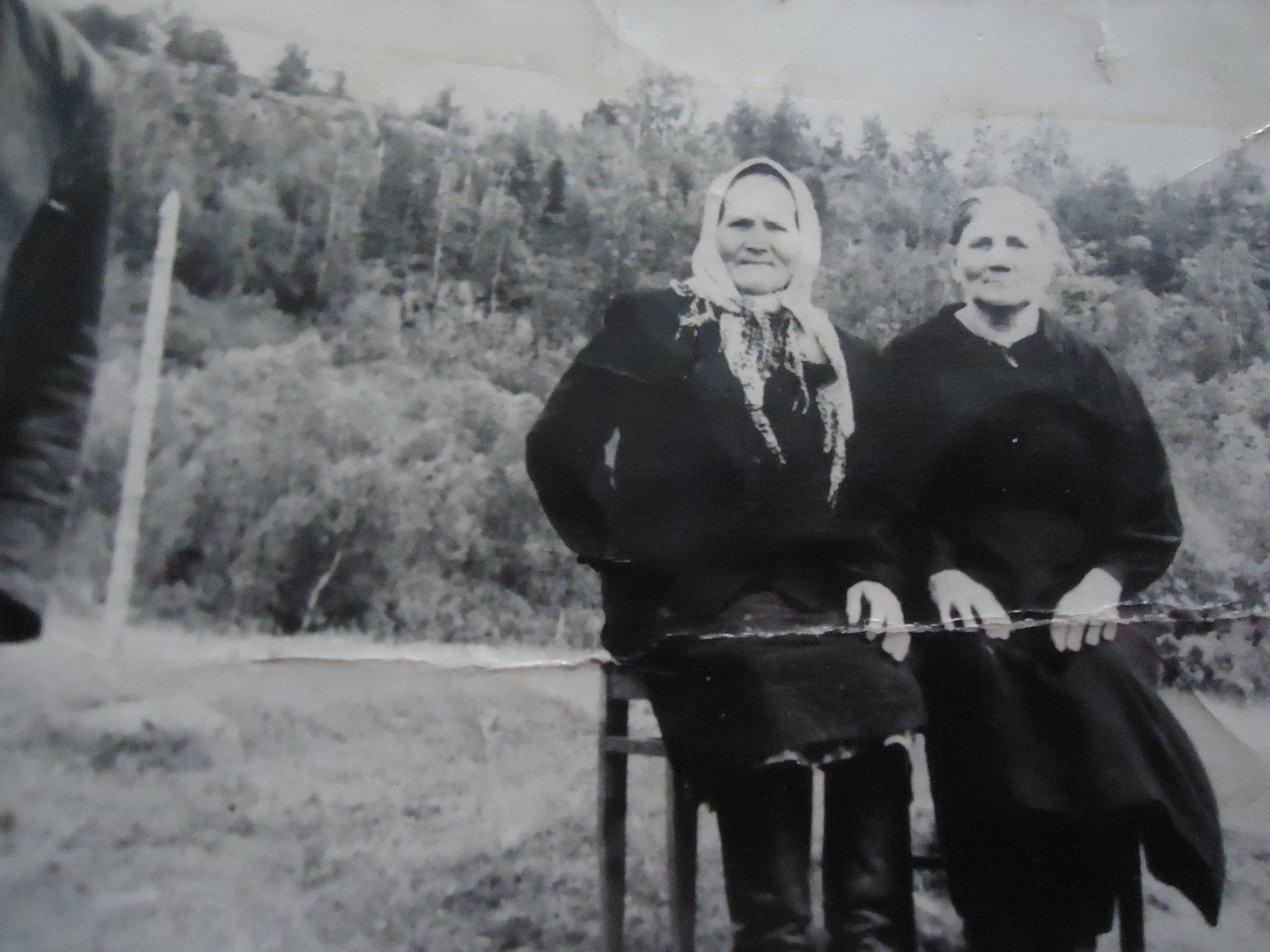 Анастасия Петровна Севостьянова, в гостях у брата Степана