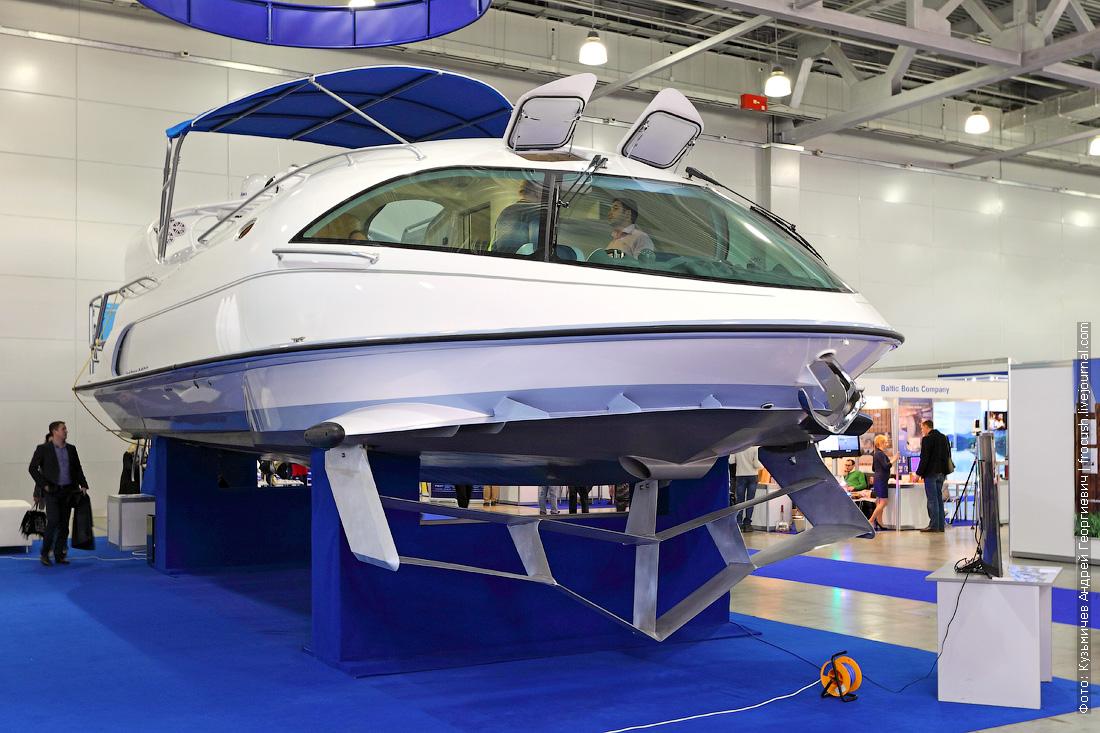 московское боут шоу 2015 моторная яхта на подводных крыльях