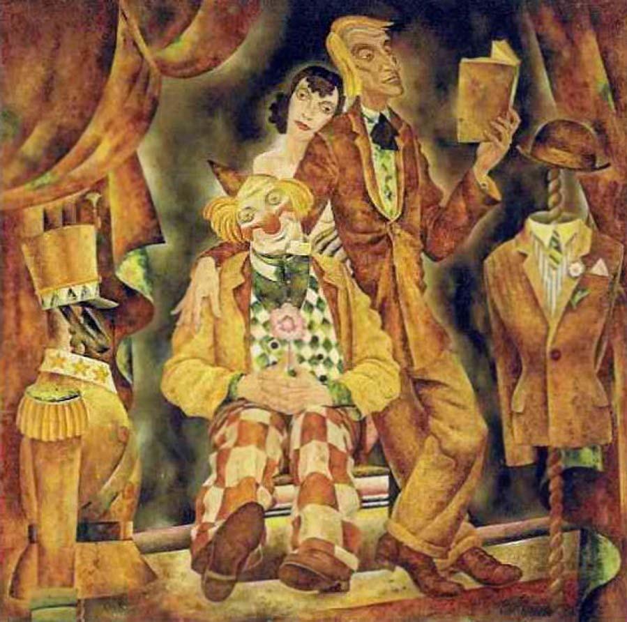 Пророки. ок. 1935. Франц Вальтер Бергманн (1898-1970)