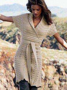 Из секретов Вики. Платье-туника с шалевым воротником Наши воплощения