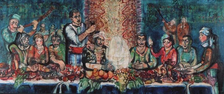 Армянская свадьба. Работа времен колледжа