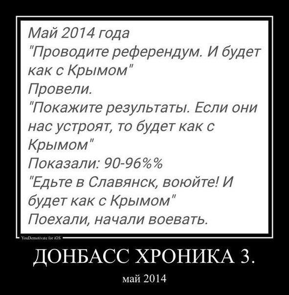 Донбасс Хроника 3. Май 2014