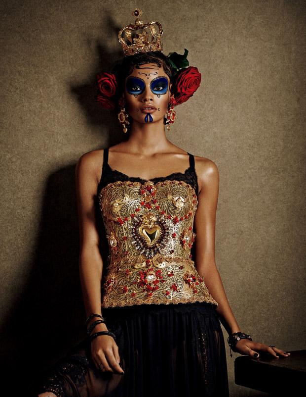 Малаика Ферт (Malaika Firth) в журнале Vogue Japan (7 фото)