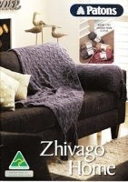 Журнал Patons No 1291 Zhivago Home &Styles jpg 22Мб