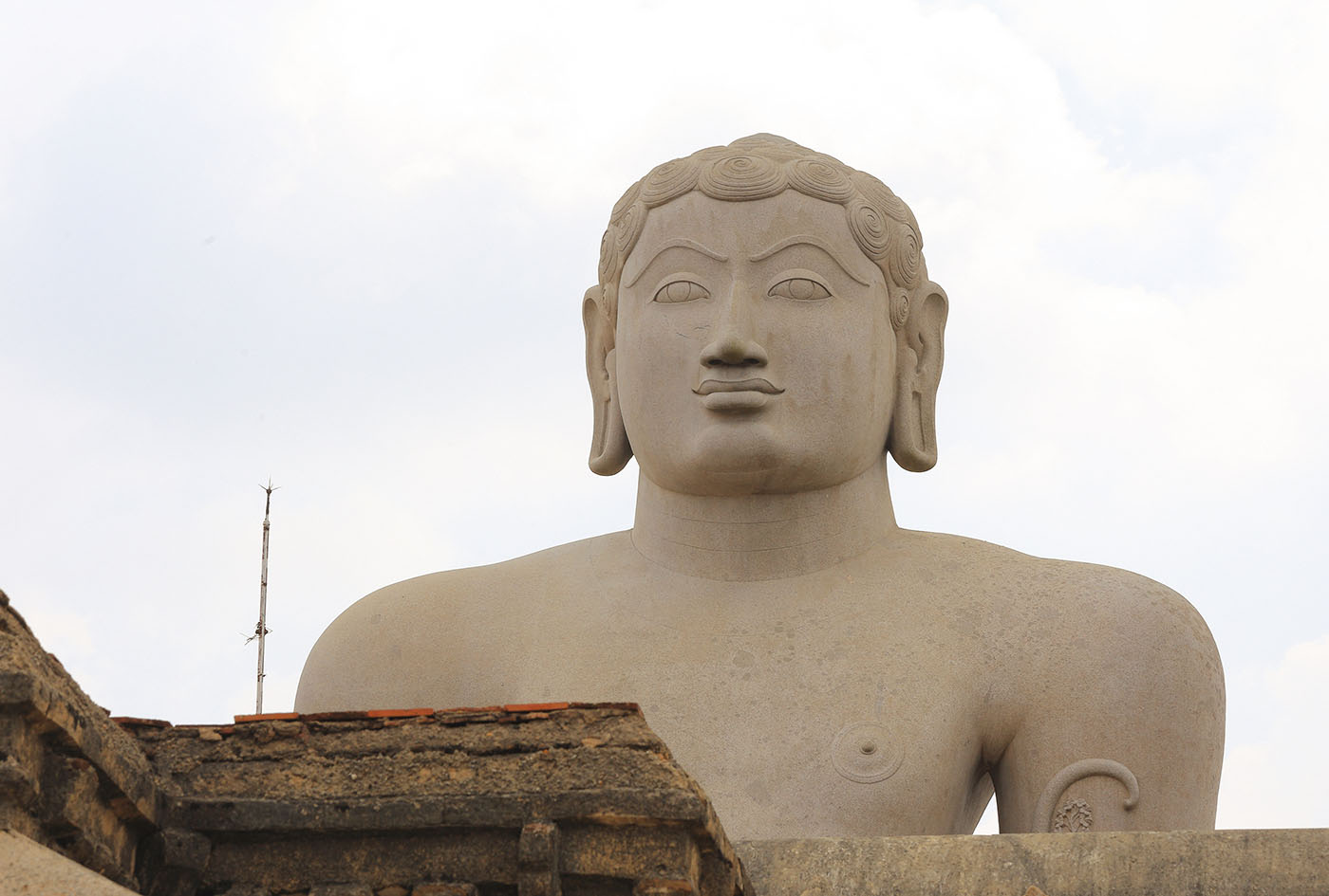 Фото 13. Тур по Индии. Бахубали. Голова. 125, 14.0, 100, 127