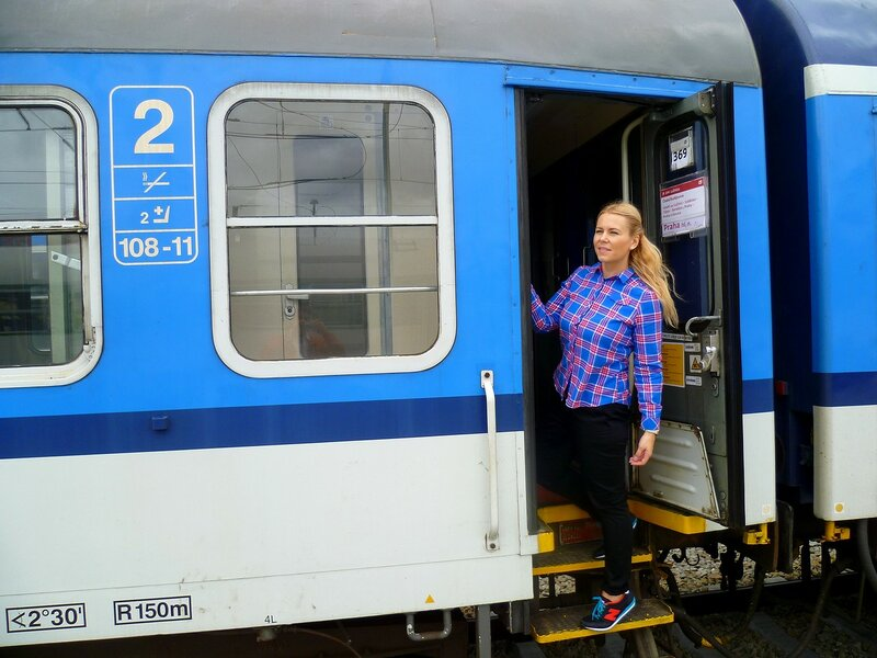 Поезд а Чехии (Train and the Czech Republic)