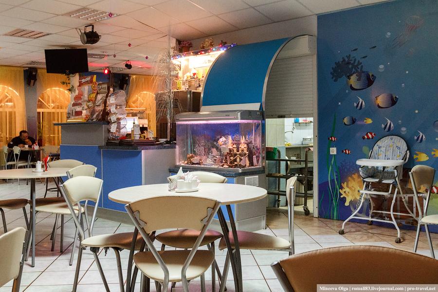 Кафе Золотая рыбка в Великом Устюге