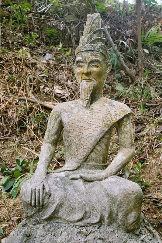 Тайный сад Будды (Secret Buddha Garden). Самуи, Таиланд