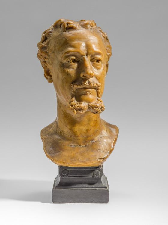 Скульптура художника Эдуарда Луи Dubufe (1820-1883) Луи-Жюльен Франчески (так называемый Жюль) (Франция, 1825-1893) Франция, 1878