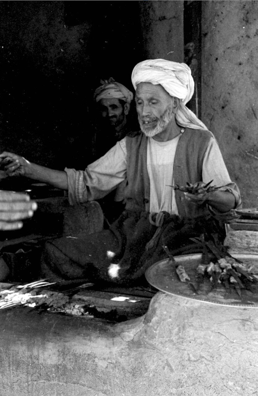 Торговец кебабами