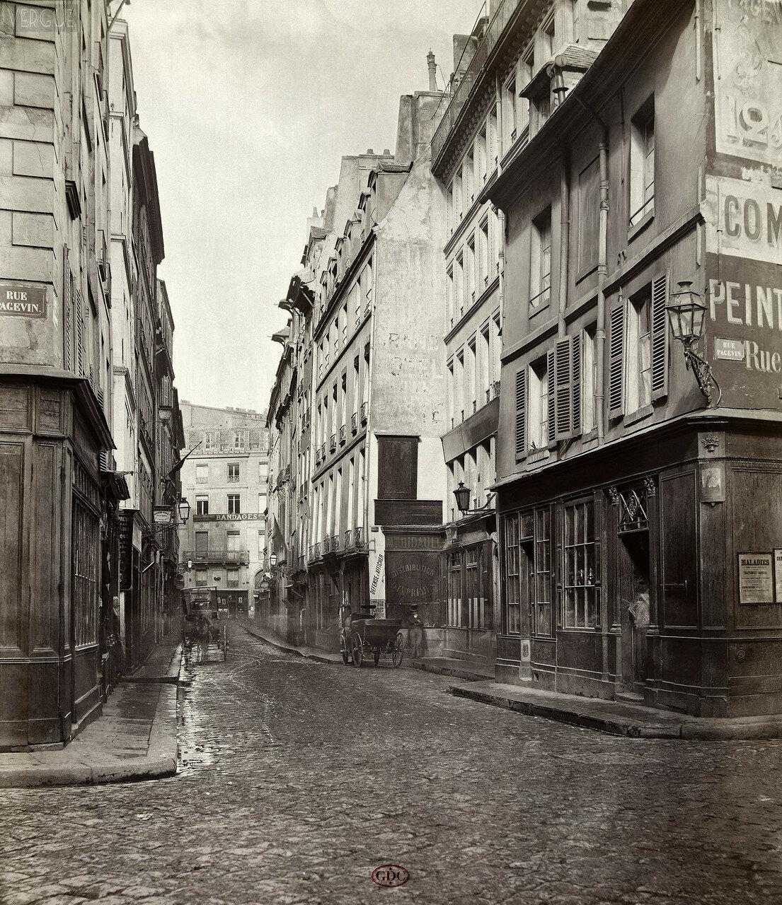 Рю де ла Жюсьен. 1868