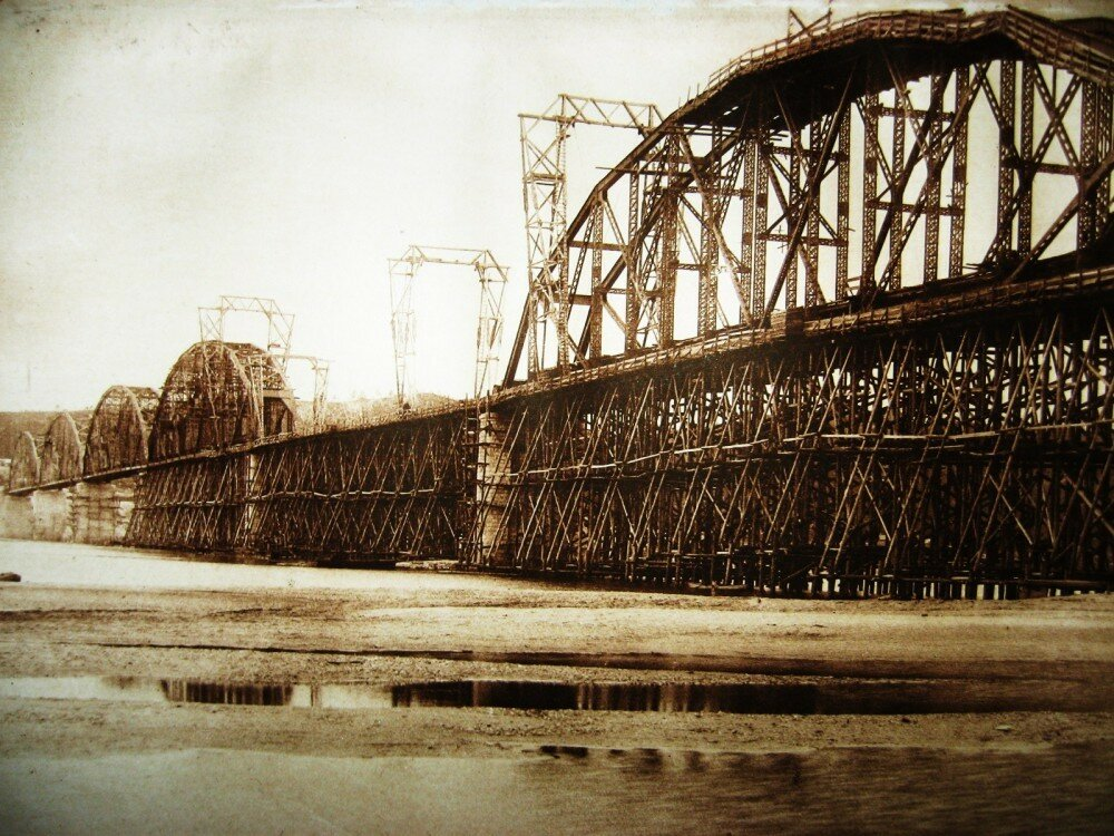 06. Постройка Белогорского моста