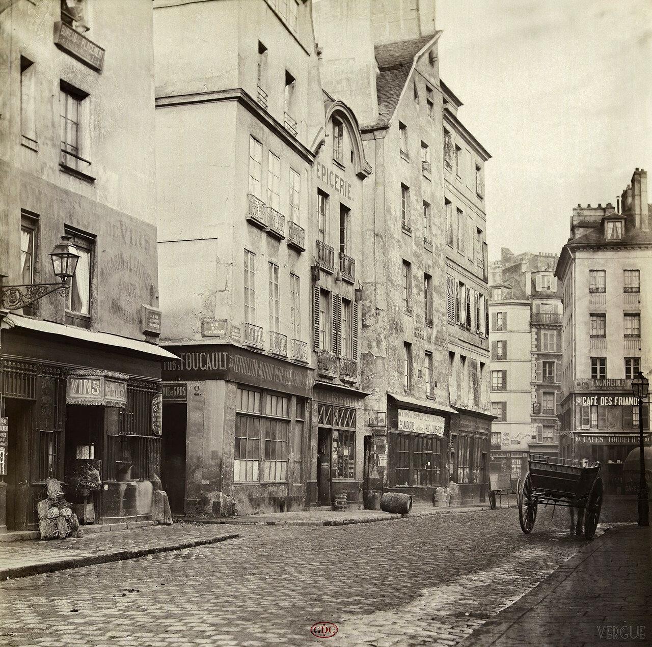 Рю дэ Лавандьер. 1865