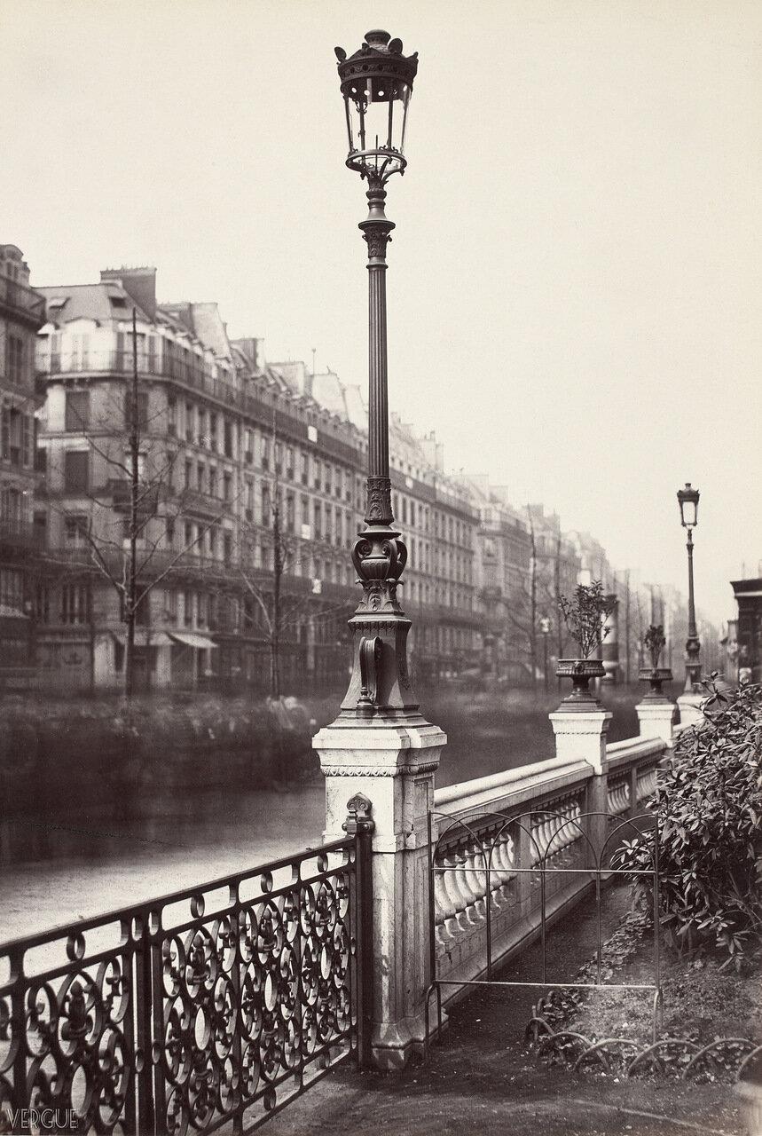Газовый фонарь на Площади Искусств и ремесел. 1862