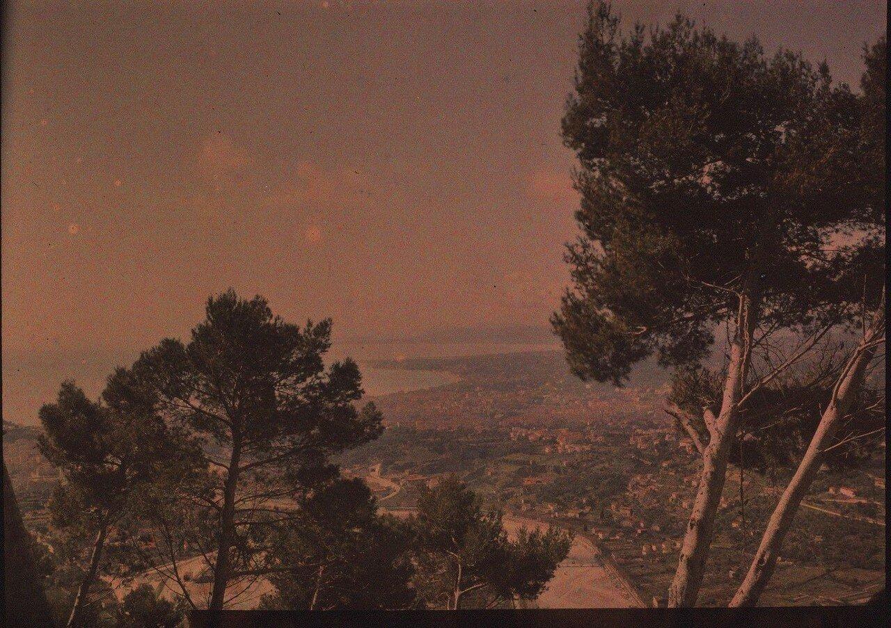 1910. Панорама Ниццы