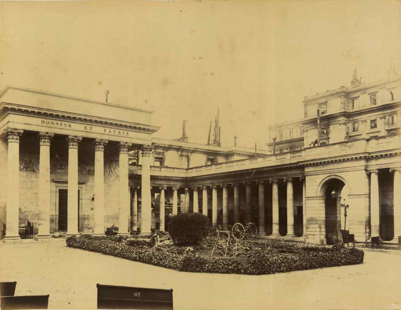 Дворец Почетного легиона, внутренний двор
