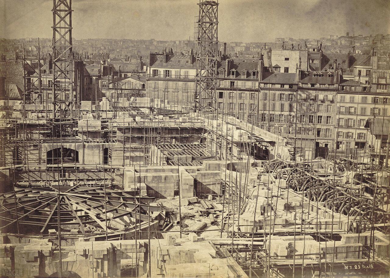 1864. Строительство Новой Оперы