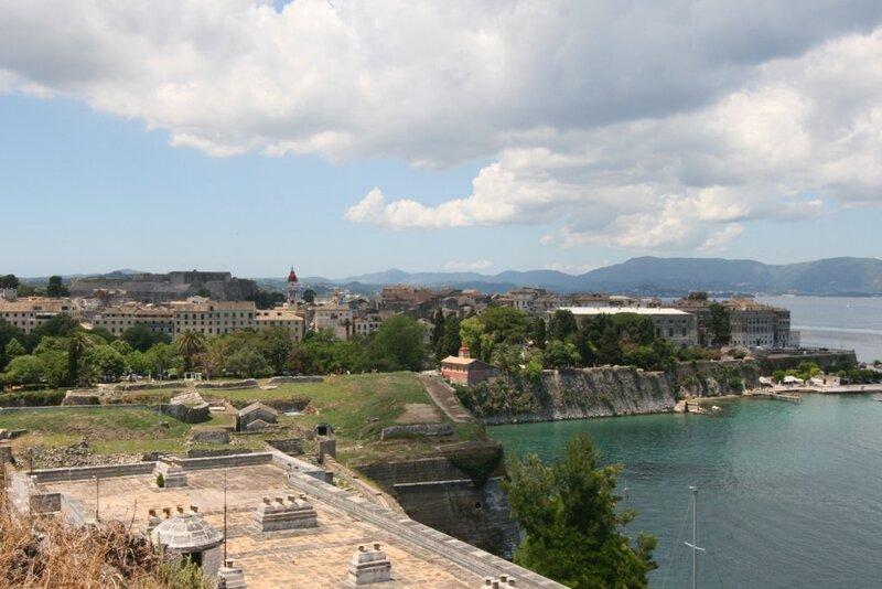 Корфу, Вид на Старый город Керкира