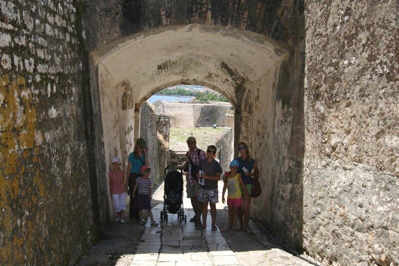 Корфу, Мы в Старой крепости Керкиры