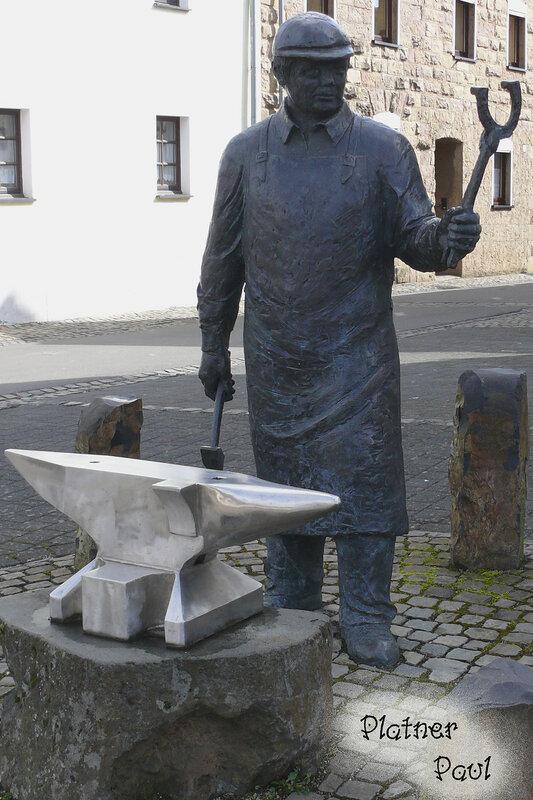 Кузнец из дерени Иверсхайм (Германия)
