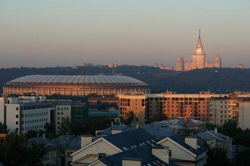 Рассвет в столице