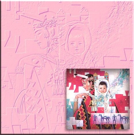 цифровая фреска,выполненная на бумаге или холсте с помощью плоттера