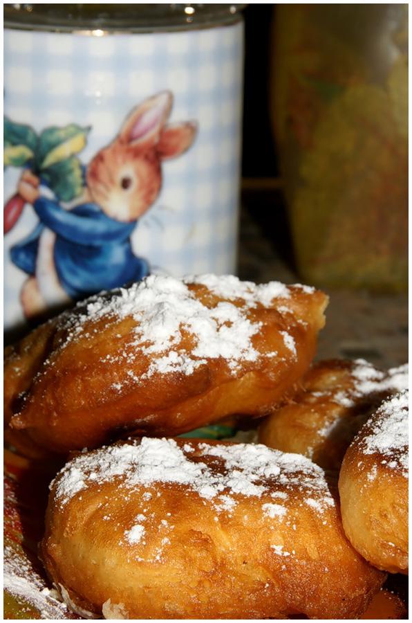 пончики с яблоками фото рецепт