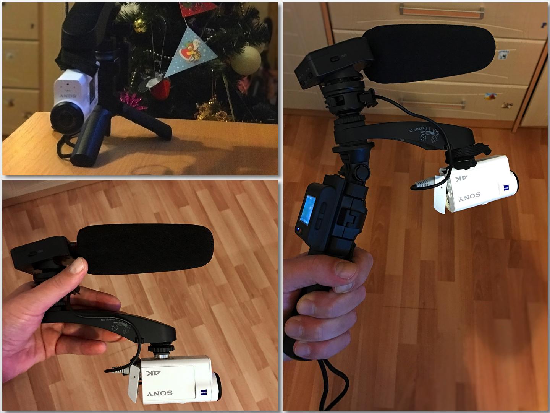 Мечта видеоблогера. Как от экшн-камеры Sony X3000 получить крутой звук
