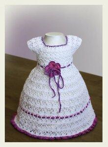 Платья крючком осинка для девочек