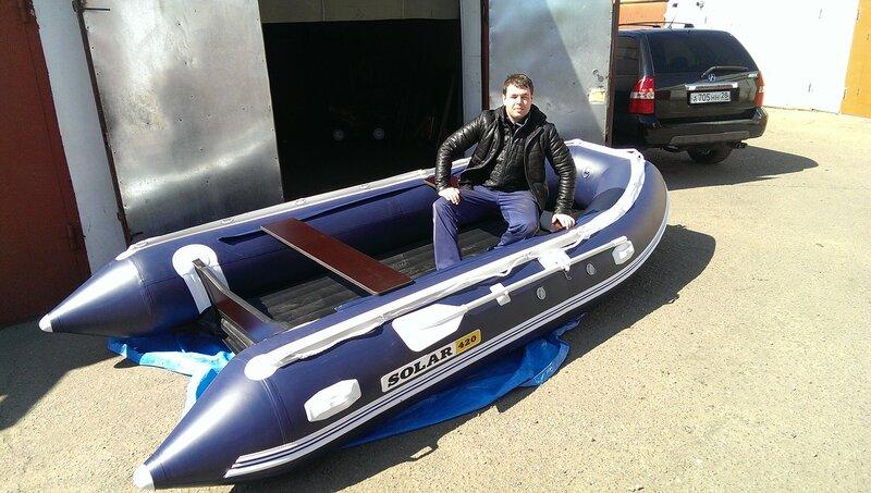 форум лодок солар