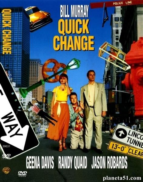 Быстрые перемены (Смена декораций) / Quick Change / 1990 / ПМ / HDTVRip