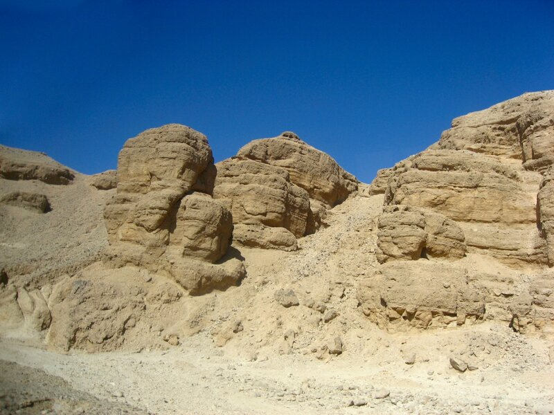 Долина Царей в Египте - город мёртвых и гробницы фараонов - ЮНЕСКО, Руины, Пустыня, Горы - luxor, egypt