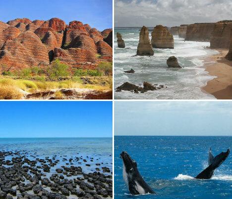 австралия, чудеса света