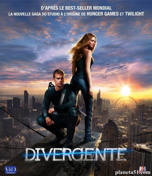 Дивергент / Divergent (2014/WEB-DL/WEB-DLRip)