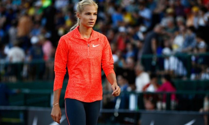 Легкоатлетка Клишина вышла вфинал Олимпиады впрыжках вдлину