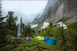 Наш лагерь возле Сказки