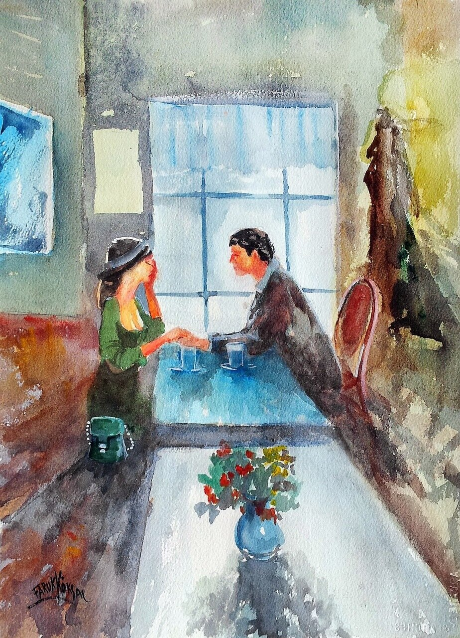 Турецкий художник Faruk Koksal