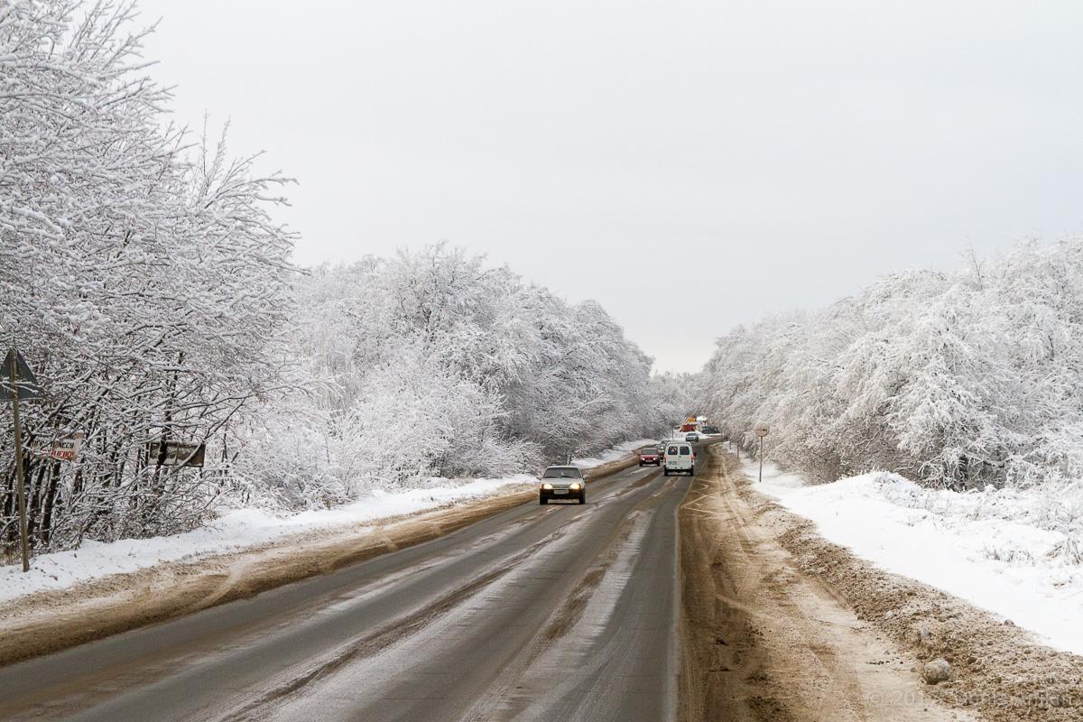 кумыска зима дорога фото 5