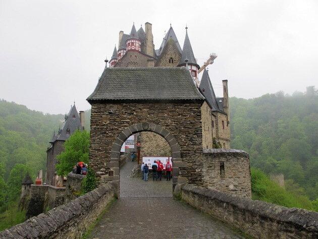 Замок Эльц. Германия