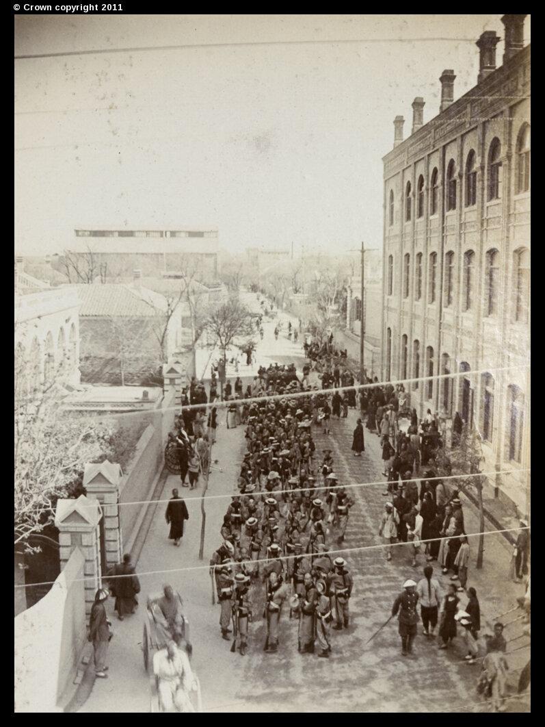 Союзные войска на Виктория-роуд
