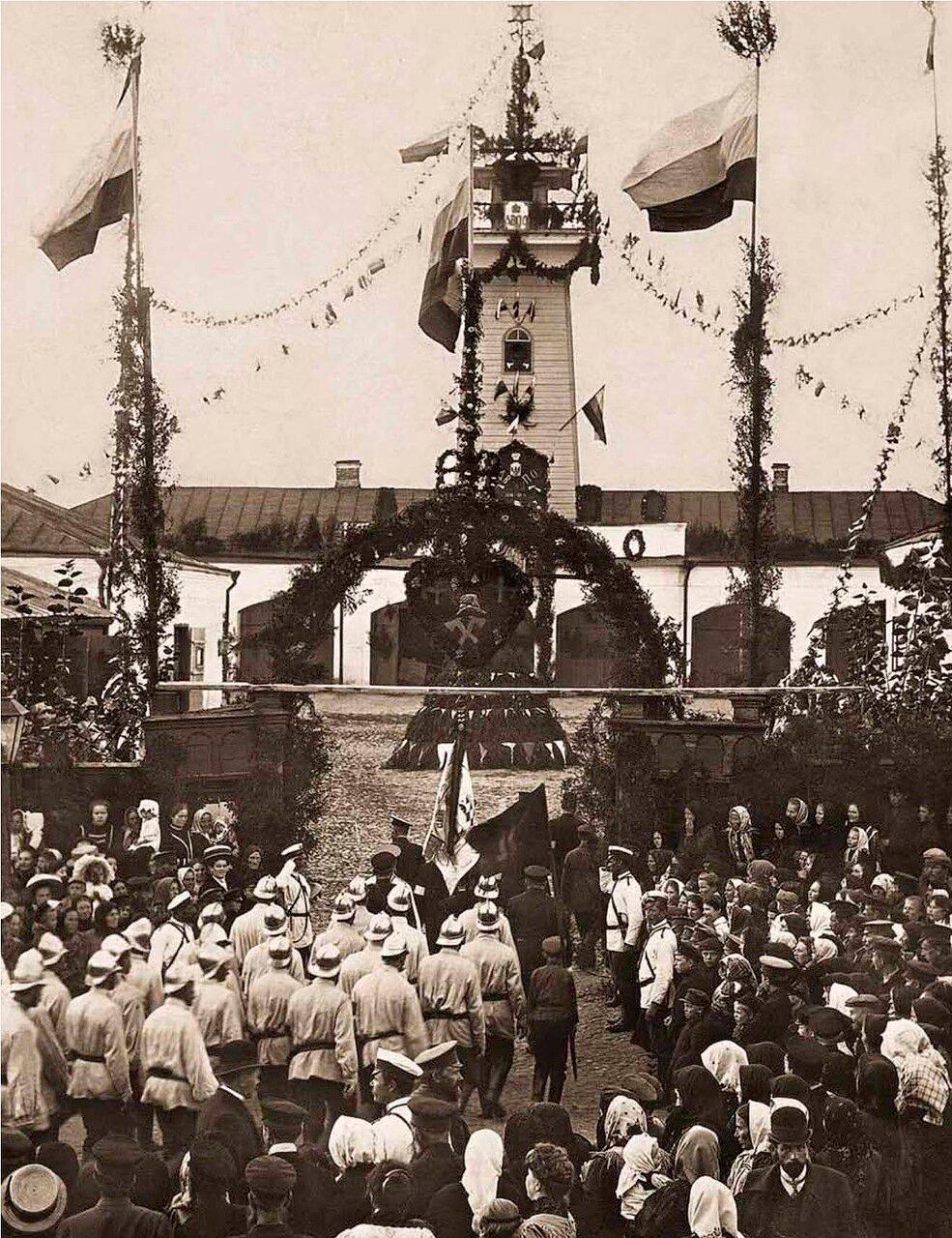 1910. Праздник Даниловской Добровольной Пожарной Дружины